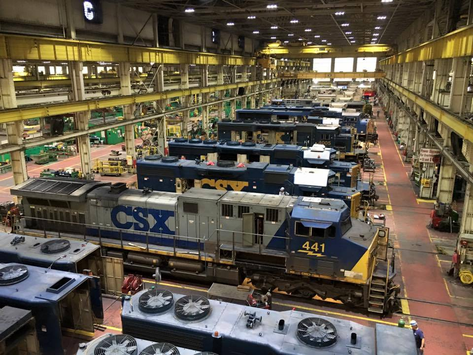 Huntington Locomotive Shop